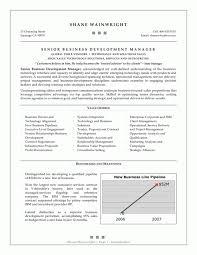 cover letter sample senior management resume sample senior program