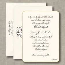 round wedding invitations engraved gilt edge heavy weight invitation with round corners