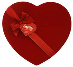 heart chocolate box butlers velvet heart chocolate box 225 g co uk grocery