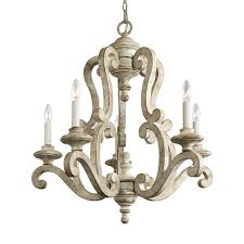 Kichler Lighting Chandelier Kichler Lighting 43256daw Hayman Bay 5 Light Chandelier The Mine