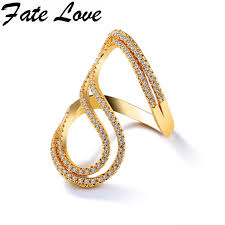 s rings fate new fashion s letter rings woman accessory creative