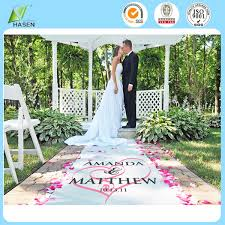Isle Runner Nonwoven Indoor Outdoor Aisle Runner Carpet Roll For Wedding