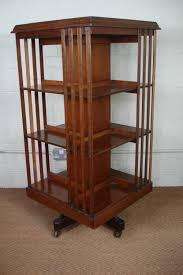 Oak Revolving Bookcase Victorian Oak Revolving Bookcase 331690 Sellingantiques Co Uk