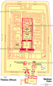 14 top tourist attractions in luxor easy day trips planetware medinet habu floor plan map