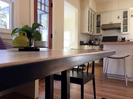 lamar metalwork design fabrication kitchen nook table design inspired by client s own antique wooden trestle table our modern adaptation uses steel and butcher block wood
