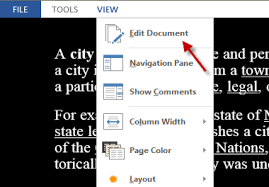 word 2013 read documents in inverted mode