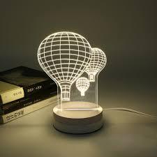 cute balloon table lamps 3d mood lamp kids art deco lamp luminaria