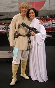 Luke Skywalker Halloween Costume Meredith Viera Princess Leia Matt Lauer Luke Skywalker