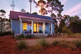 lowcountry style tiny home provides guest design studio space
