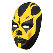 randy orton halloween costume goldust black gold plastic halloween party wwe mask ebay