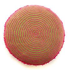 Pink Round Cushion According To Matt Spiral Cushion