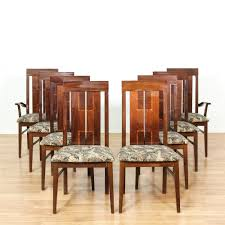 set of 8 italian polished dining chairs chairs safari and italian
