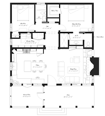 small house floor plans with porches southern style house plan 2 beds 2 baths 1394 sq ft plan 492 9