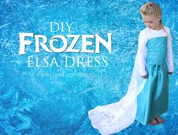 diy frozen elsa dress tutorial cape u2013 kiki u0026 company