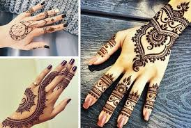henna tattoos the of painting on the and