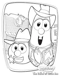 coloring pages lovely veggie tales coloring pages littlejoe