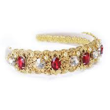 gold headband abella gold headband baroque headpiece gold headband