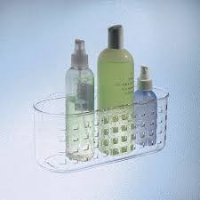 Interdesign Bathroom Accessories Interdesign Suction Bathroom Shower Caddy Basket For Shampoo