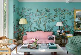interior wallpapers for home inside caroline sieber u0027s colorful london home in notting hill vogue