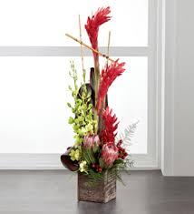 tropical flower arrangements flowers by dustin the ftd tropical bright arrangement belleville