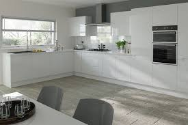 White Gloss Kitchen Cabinet Doors by Kitchen Cabinet Refacing