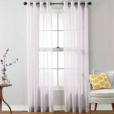 Kitchen Sheer Curtains by Amazon Com Hlc Me 2 Piece Sheer Curtain Grommet Panels Aqua