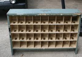 Cubby Hole Shelves by Vintage Post Office Desk Cubby Holes Storage Industrial Sort Bins