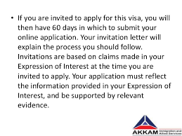 Letter Visa Application Exle Expression Of Interest Letter Australian Immigration All The