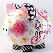 Personalized Silver Piggy Bank 248 Best Piggy Bank Images On Pinterest Piggy Banks Money Box