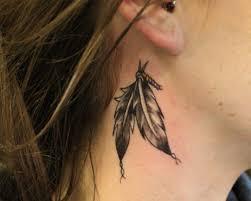 wolf tattoo behind ear wolf girl tattoo behind ear design idea