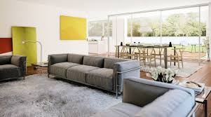 home ideas marvelous ideas on living and dining in the same area full image for open living room design with grey soft sofa above grey wool rug design