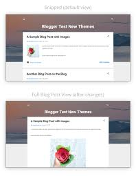 show full blog posts in homepage of contempo theme in blogger
