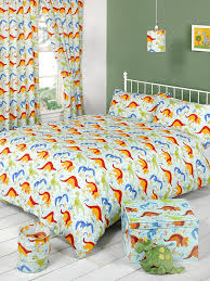 Lined Nursery Curtains by Dinoland Dinosaurs Fully Lined Bedroom Curtains Set 66