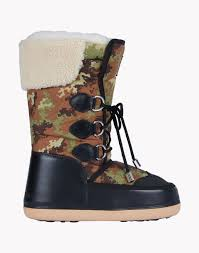 dsquared2 camouflage snowboots multicoloured winter boots for