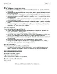 Sample Resume For Hotel Jobs Sample Resume For Hotel Jobs Serving Resume Examples Waiter
