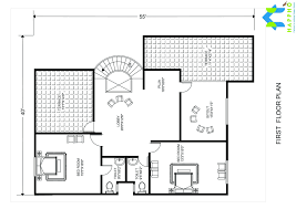 1 bhk floor plan for 22 x 42 feet plot 927 square feet