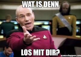 Wat Meme - wat is denn los mit dir meme picard wtf 34799 memeshappen