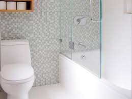 Small Bathroom Grey Tiles Classy Interiors White Accent For Small Bathroom Remodel Ideas
