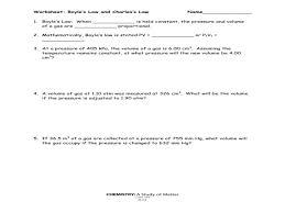 boyle u0027s law and charles u0027 law worksheet u2013 guillermotull com