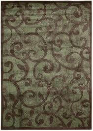2 X 8 Runner Rugs Nourison Closeout Area Rug Expressions Xp02 Brown 2 3 X 8