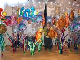 92 best under the sea images on pinterest balloon decorations