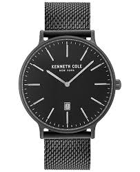 black stainless bracelet images Kenneth cole new york kenneth cole men 39 s black stainless steel tif