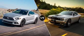 Dodge Challenger 2016 - 2017 ford mustang vs 2016 dodge challenger