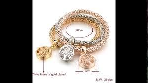 rhinestone bracelet charms images Vintage designer austrian rhinestones gold plated tree of life jpg