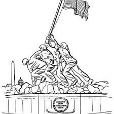 memorial coloring pages retired soldier on memorial day coloring page batch coloring