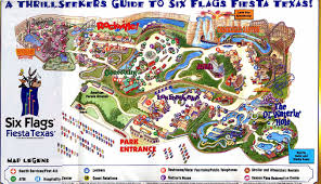 Call Six Flags Over Texas Park Maps