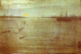 Gray And Gold Whistler Nocturne Blue And Gold Southampton Water 1872 James