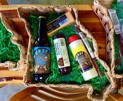 sausage gift baskets missouri shaped gift baskets hermann wurst haus