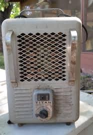 Radiateur Electrique Style Retro Vintage Titan Electric Space Heater 1300w 1500w Model 176081