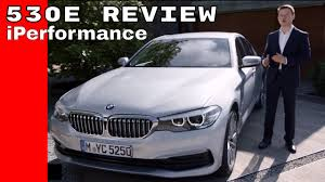 2017 bmw 5 series 530e iperformance review youtube